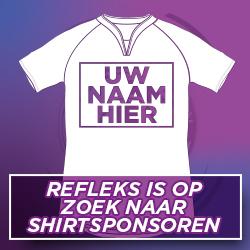 Refleks zoekt shirtsponsoren
